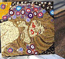 Gustav Klimp Water Serpents Mosaic by beccacaram