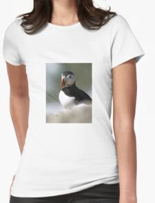 Puffin Womens Fitted T-Shirt