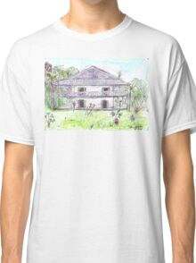 Doctor's House, Old Leprosy Colony, Curieuse Island Classic T-Shirt