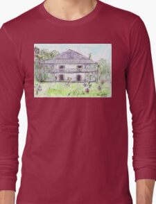 Doctor's House, Old Leprosy Colony, Curieuse Island Long Sleeve T-Shirt