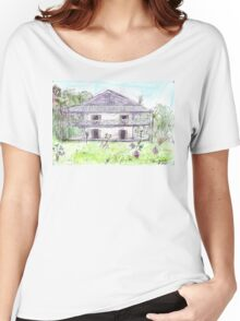 Doctor's House, Old Leprosy Colony, Curieuse Island Women's Relaxed Fit T-Shirt