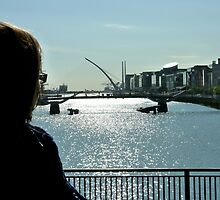 viewing the Liffey by SUBI