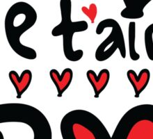 Je T'aime KPOP Sticker