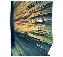 Weathered  Poster