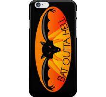 Bat Outta Hell iPhone Case/Skin