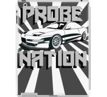 Ford Probe Gt Nation (3/4 View, Perspective Stripes) iPad Case/Skin