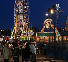 Calgary Stampede Midway by Michael Beckett