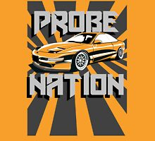 Ford Probe Gt Nation (3/4 View, Perspective Stripes) Unisex T-Shirt