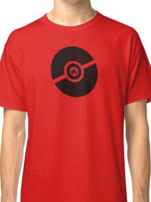 Pokemon Pokeball Fire  Classic T-Shirt