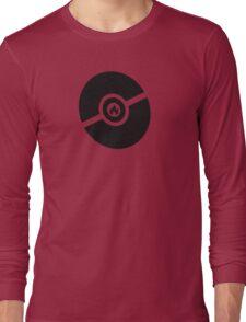 Pokemon Pokeball Fire  Long Sleeve T-Shirt