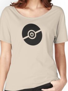 Pokemon Pokeball Fire  Women's Relaxed Fit T-Shirt