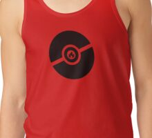 Pokemon Pokeball Fire  Tank Top