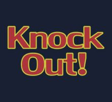 Knock Out T-Shirt Top Sweater Sticker Kids Clothes
