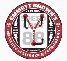 Emmett Brown's Institute of Science & Technology T-Shirt