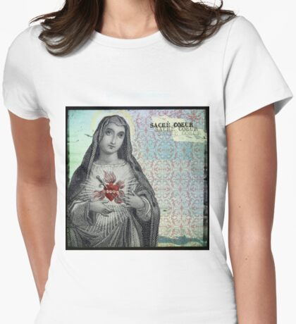Sacre Coeur Womens Fitted T-Shirt