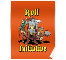 Roll Initiative Poster