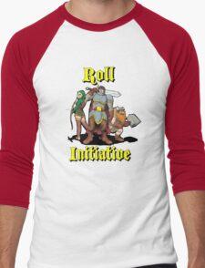 Roll Initiative Men's Baseball ¾ T-Shirt