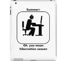 Summer For Gamers iPad Case/Skin