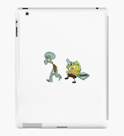 FUNNY SPONGEBOB iPad Case/Skin