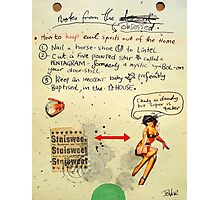 notes from the obsessed Photographic Print