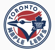 Toronto Maple Jays - Blue Leafs by Phneepers