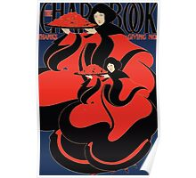 Poster 1890s The ChapBook Thanksgiving number advertising poster 1895 Poster