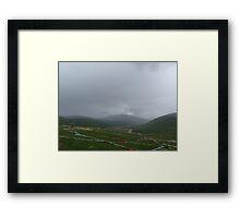 Rain in the Himalayas Framed Print