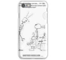 The Robot Forments Rebellion Against The Artist iPhone Case/Skin
