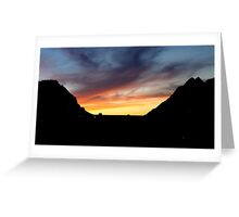 Sunset 2 in Saint Catherine Greeting Card