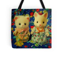 Sylvanian Families ~ White Cats Tote Bag