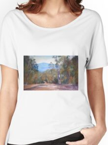 'High Country Track' Women's Relaxed Fit T-Shirt