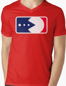 Major League Pacball Mens V-Neck T-Shirt