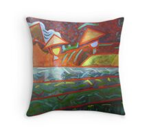 Paddy Workers - Sold Throw Pillow