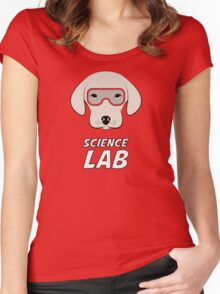 Science Lab Women's Fitted Scoop T-Shirt