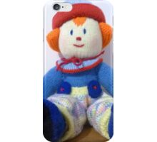 Hand knitted Clowns iPhone Case/Skin