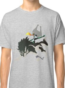 Wolf Link and Midna - Vector Art Classic T-Shirt