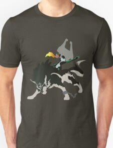 Wolf Link and Midna - Vector Art T-Shirt