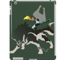Wolf Link and Midna - Vector Art iPad Case/Skin