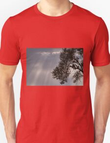 cloudy sky on the hilly T-Shirt