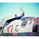 Retro Sign by Steve Lovegrove