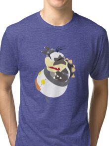 Morton Koopa - Vector Art Tri-blend T-Shirt
