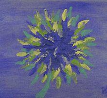 Inspired Aster by Beverley  Johnston