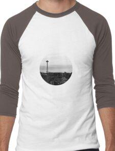 Space Needle Men's Baseball ¾ T-Shirt