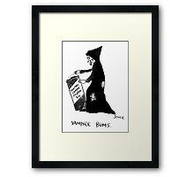 vampire bums Framed Print