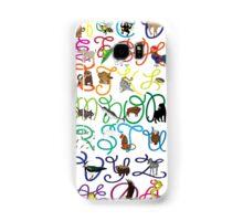 ABC poster Samsung Galaxy Case/Skin