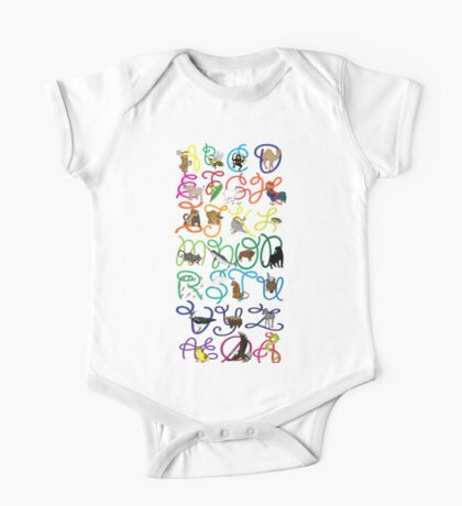 ABC poster One Piece - Short Sleeve