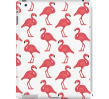 flamingo friends iPad Case/Skin