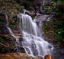 Valley of Waters - Sylvia Falls by Andrew Kerr
