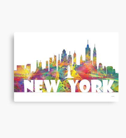 NEW YORK SKYLINE MCLR2 Canvas Print