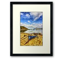 Lets Sail Away Framed Print